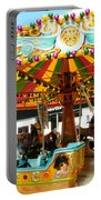Toy Town Carousel  Portable Battery Charger