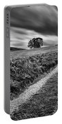 Tracks To Corgarff Castle Portable Battery Charger