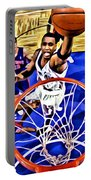Tracy Mcgrady Painting Portable Battery Charger