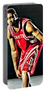 Tracy Mcgrady Portrait Portable Battery Charger