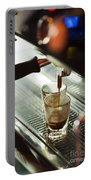 Traditional Espresso Coffee And Machine  Portable Battery Charger