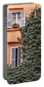 Traditional House Rome Italy Portable Battery Charger
