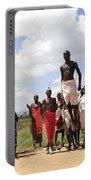 Traditional Samburu Dance Portable Battery Charger