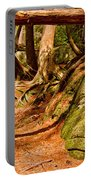 Trail In A Forest, Muskoka, Ontario Portable Battery Charger