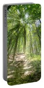 Trail In The Forest Portable Battery Charger