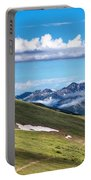 Trail Ridge Road In Rocky Mountain National Park Portable Battery Charger