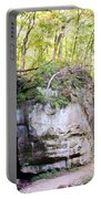 Trail Through The Rocks Wildcat Den State Park Portable Battery Charger
