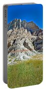 Trailhead For Saddle Pass Trail In Badlands National Park-south Dakota   Portable Battery Charger