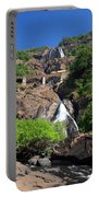 Train Crossing Dudhsagar Falls Portable Battery Charger