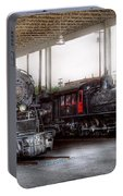 Train - Engine - 1218 - End Of The Line  Portable Battery Charger