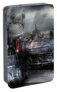 Train - Engine - 1218 - Waiting For Departure Portable Battery Charger