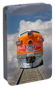 Train In Clouds Portable Battery Charger