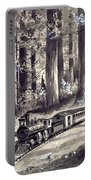 Train In The Redwoods Portable Battery Charger