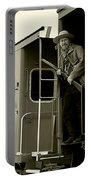 Train Robber Portable Battery Charger