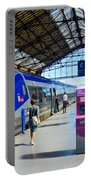 Train Station Marseille France Portable Battery Charger