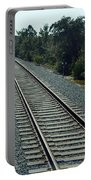 Train Tracks Portable Battery Charger