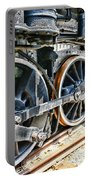 Train Wheels Portable Battery Charger