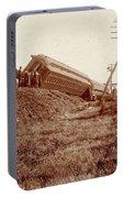 Train Wreck, C1900 Portable Battery Charger