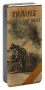 Trains Of The Old West Portable Battery Charger