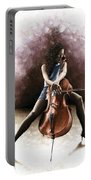 Tranquil Cellist Portable Battery Charger