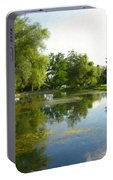 Tranquil - Digital Painting Effect Portable Battery Charger
