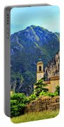 Tranquil Landscape Portable Battery Charger by Mariola Bitner