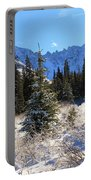 Tranquil Mountain Scene Portable Battery Charger