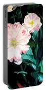 Tranquility In The Garden Portable Battery Charger