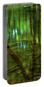 Translucent Forest Reflections Portable Battery Charger