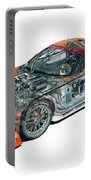 Transparent Car Concept Made In 3d Graphics 10  Portable Battery Charger
