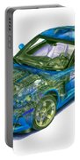 Transparent Car Concept Made In 3d Graphics 11 Portable Battery Charger