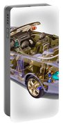 Transparent Car Concept Made In 3d Graphics 6 Portable Battery Charger