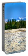Trapper Creek And Mount Mckinley, Alaska Portable Battery Charger