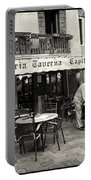 Trattoria In Venice  Portable Battery Charger by Madeline Ellis