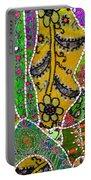 Travel Shopping Colorful Tapestry 8 India Rajasthan Portable Battery Charger