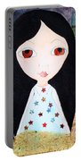 Traveling Little Girl Portable Battery Charger
