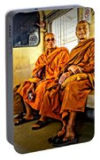 Traveling Monks Portable Battery Charger