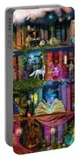 Fairytale Treasure Hunt Book Shelf Portable Battery Charger