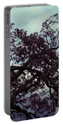 Tree Against Sky Portable Battery Charger