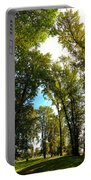 Tree Arches At Clackamette Park Portable Battery Charger