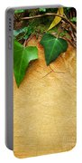Tree Background Portable Battery Charger