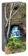 Tree By The Brook Portable Battery Charger