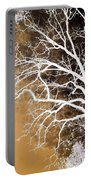 Tree In Abstract Portable Battery Charger