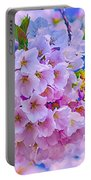 Tree In Bloom Portable Battery Charger