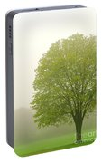 Tree In Fog Portable Battery Charger