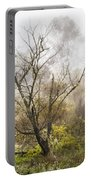 Tree In The Fog Portable Battery Charger