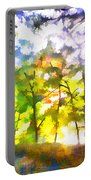 Tree Leaves Portable Battery Charger