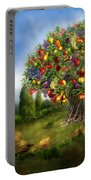Tree Of Abundance Portable Battery Charger