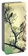 Tree Of Crows II Lights Portable Battery Charger