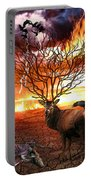 Tree Of Death Portable Battery Charger